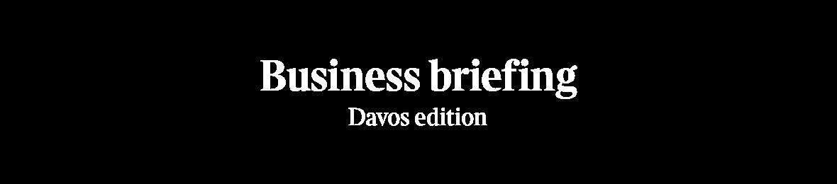 Davos newsletter logo
